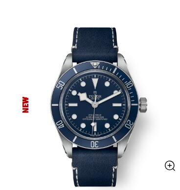 New Tudor Watch BLACK BAY FIFTY-EIGHT m79030b-0002 Replica watch 39 mm steel case Blue soft-fabric strap