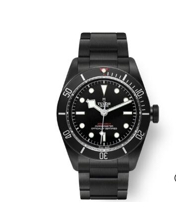 Tudor BLACK BAY DARK replica watch m79230dk-0008 41 mm PVD steel case Steel bracelet