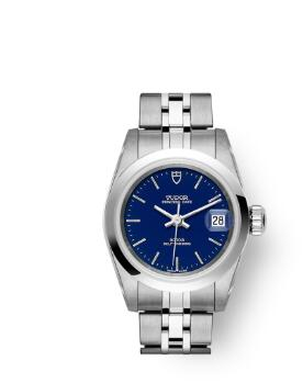 Buy Tudor Princess Date Replica Watch 25 mm steel case Blue dial m92400-0002