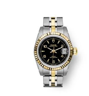 Buy Tudor Princess Date Replica Watch 25 mm steel case Yellow gold bezel m92413-0004