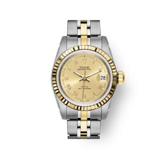 Buy Tudor Princess Date Replica Watch 25 mm steel case Yellow gold bezel m92413-0017